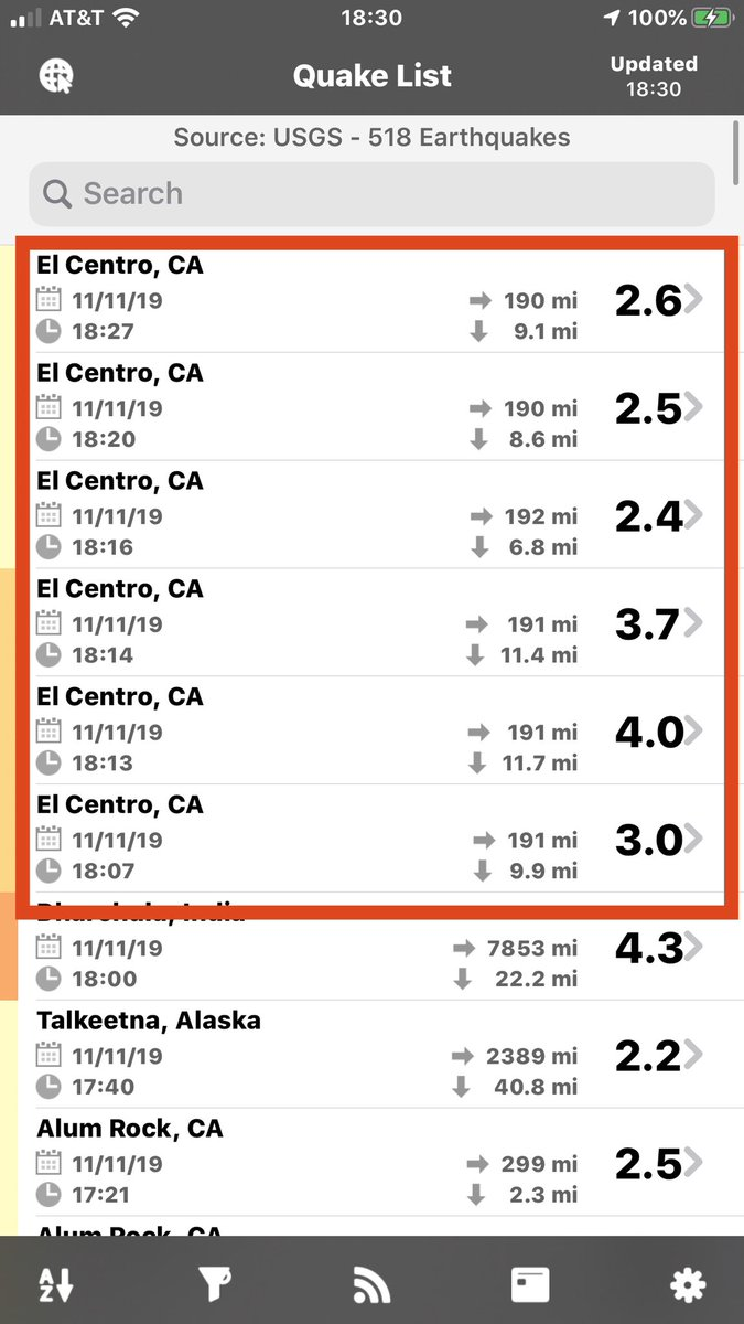@TomHall Make that 6 #earthquakes in a 1/2 hour.