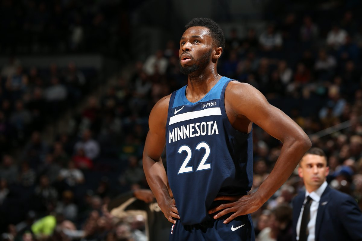 Andrew Wiggins' last 4 games:  30 PTS | 6 ASTS | 2 STLS 40 PTS | 5 REBS | 7 ASTS 25 PTS | 4 REBS | 5 ASTS 33 PTS | 6 REBS | 5 ASTS  Breakout year?