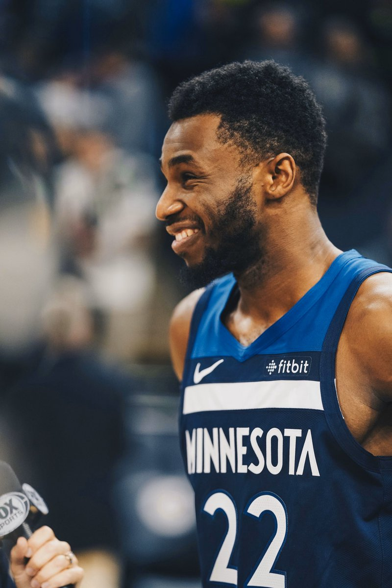 Andrew Wiggins tonight   33 points  6 rebounds  5 assists  1 block  60% FG  Now averaging 25.5p, 4.8r, 3.3a on the season 🇨🇦🔥