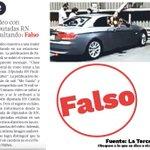 Image for the Tweet beginning: Basta de #FakeNews. Muy mala