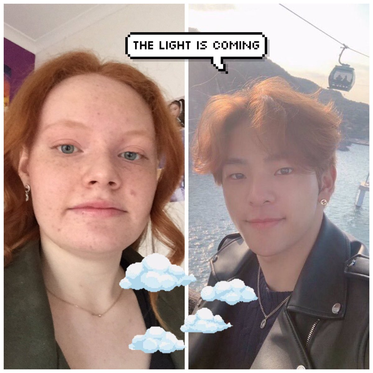 ~The light is coming~ ✨💖 #SSD #StaySelcaDay @Stray_Kids   (Accidentally deleted my ssd from the other day so don't pay attention to this lol)