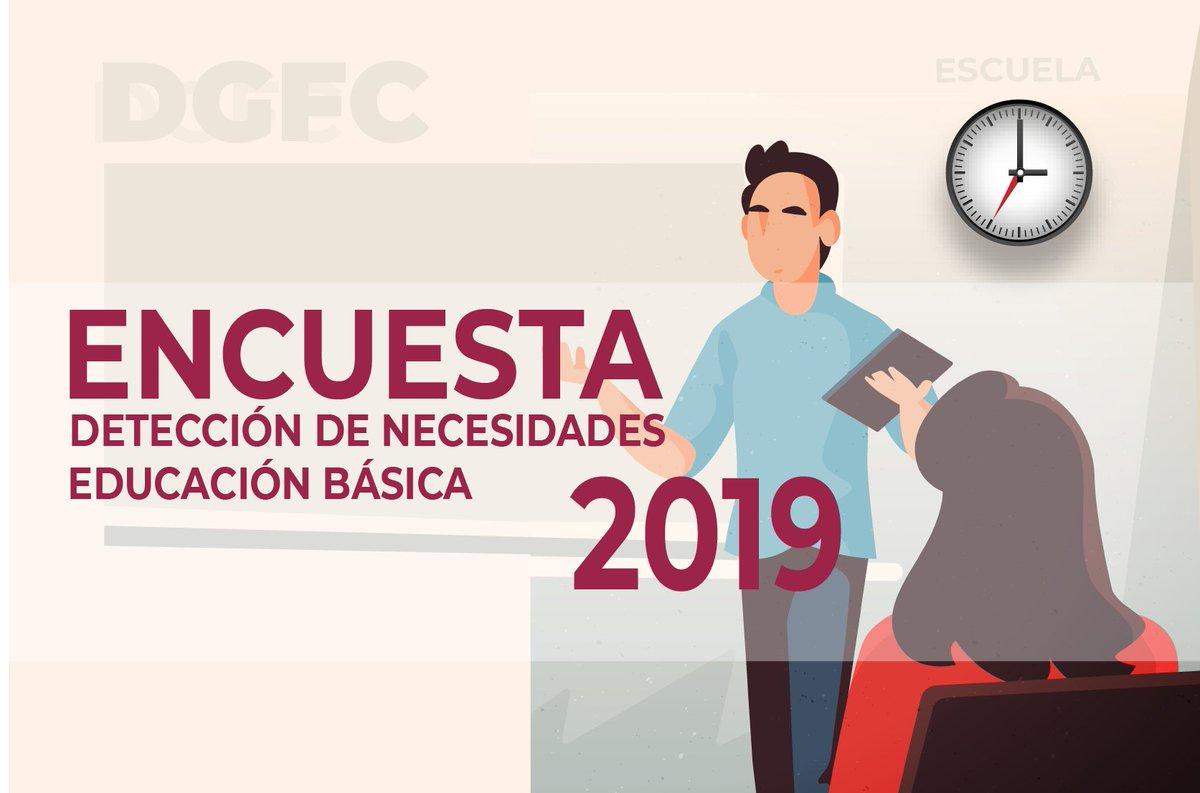 Docentes de #EducaciónBásica les compartimos que ya está disponible la Encuesta de Detección de Necesidades de Educación Básica 2019 de la Dirección General de Formación Continua de @SEP_mx.