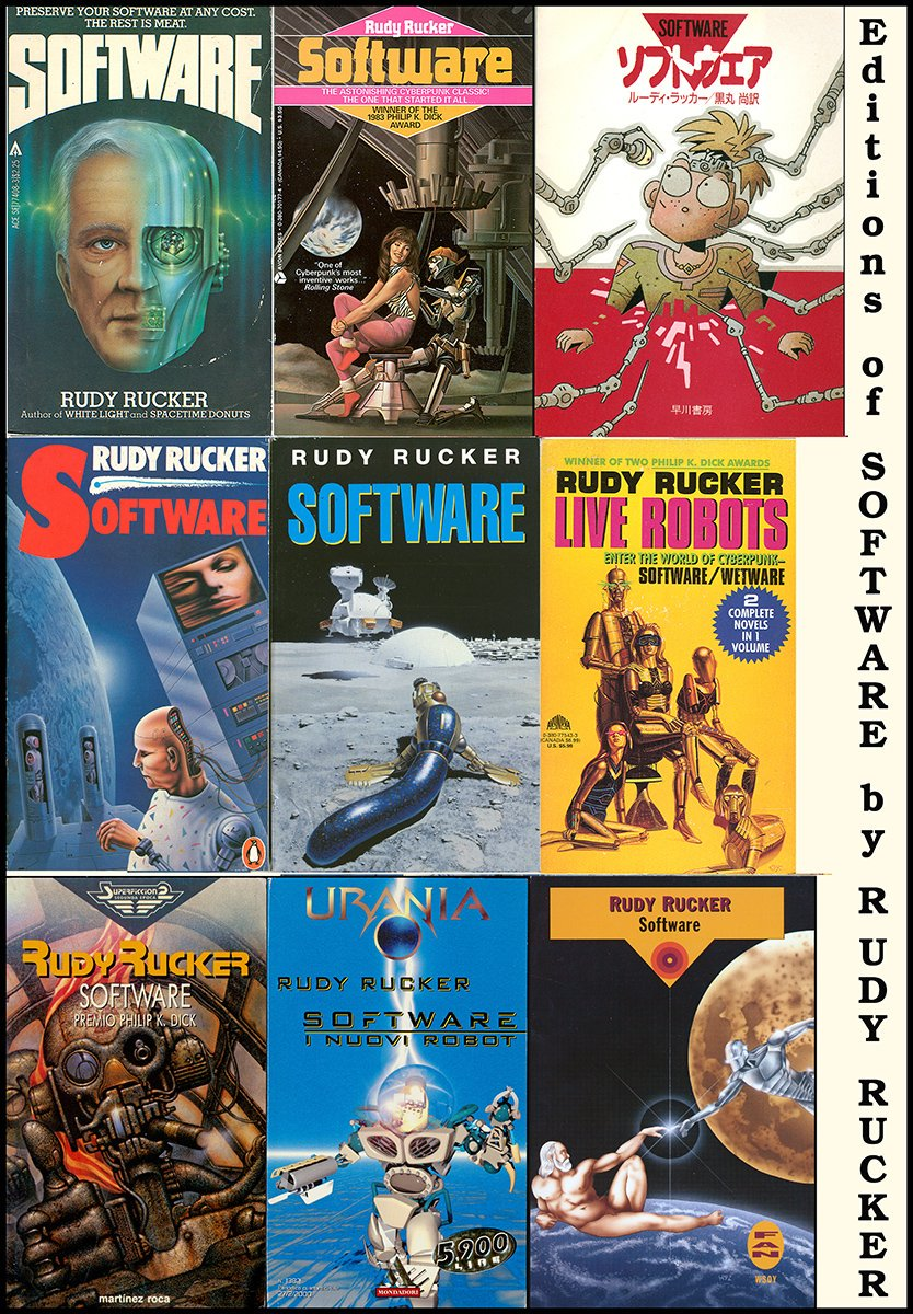 Some nibbles on SOFTWARE this month.  Pray for rain.  Here's nine covers! <br>http://pic.twitter.com/4TkbpJ5jMb