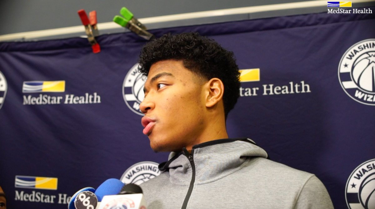 🎥 Rui Hachimura on being a role model for kids in Japan, @MSE's business trip to Japan, and more.  #RepTheDistrict   @rui_8mura