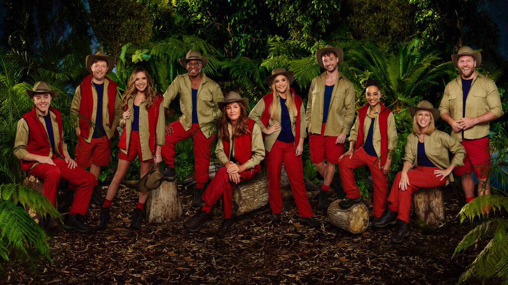 CONFIRMED BY ITV: The 2019 @imacelebrity line-up: @romankemp @IanWright0 @jameshaskell @kategarraway @jacquelineMjos @Caitlyn_Jenner @MylesRakSu @andrewismaxwell @AdeleRoberts @NadineCoyleNow