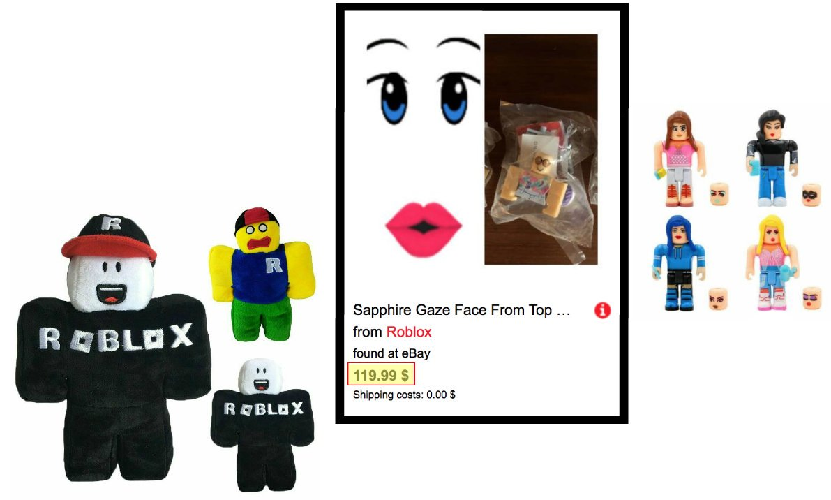 Roblox Toy Sapphire Gaze Lily On Twitter I Saw Some Interesting Roblox Merch On Ebay Cute Plushies A Face Code Going For 120 Now And Fake Toys Robloxtoys Https T Co Accwbldbgx