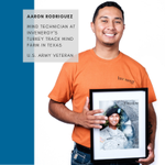 "Image for the Tweet beginning: ""#Veterans like Aaron are finding"