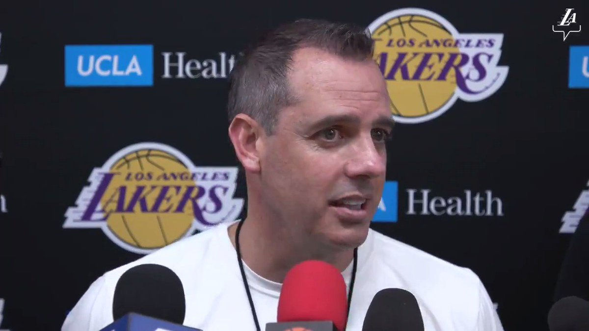 🎥 Frank Vogel gives updates on Rondo's availability ahead of tomorrow's away game in Phoenix.