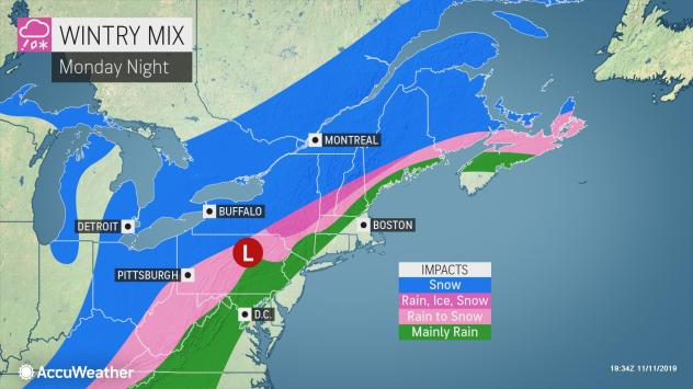 NWS issues Winter Storm Watch; measurable accumulation likely across FLX