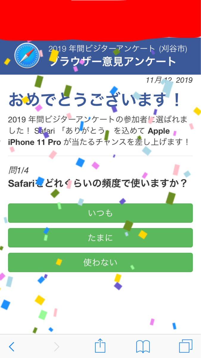 年 アンケート 2019 ビジター