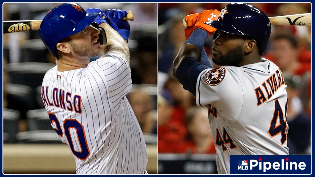 #Mets Pete Alonso and #Astros Yordan Alvarez win Rookie of the Year awards for their massive 2019 seasons. But which 19 rookies will have the most impact long-term? @jimcallisMLB ranked the top 30: atmlb.com/2kiWLYN