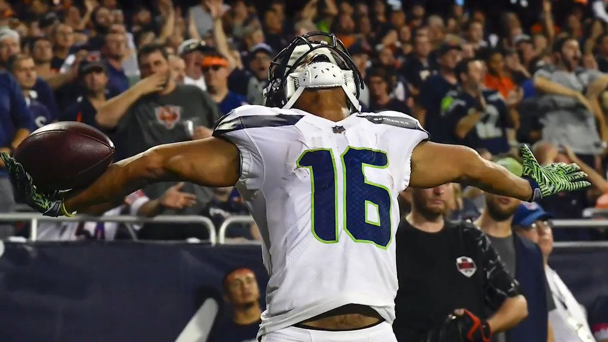 """If we don't live or just think it, life's gotta be more than trying to dream it.""  @Seahawks WR Tyler Lockett uses his passion for writing to inspire others."