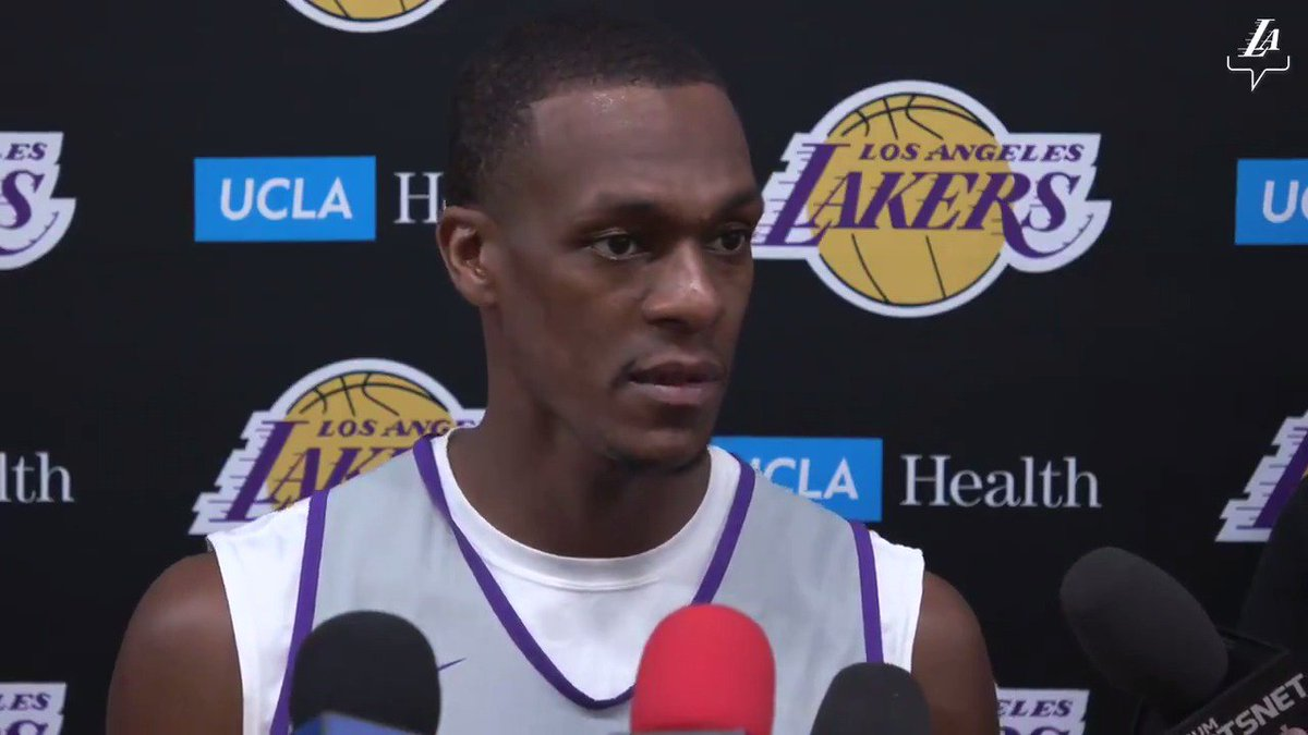 🎥 Rajon Rondo gives an update on his calf injury, and discusses how he'll impact the team upon his return.