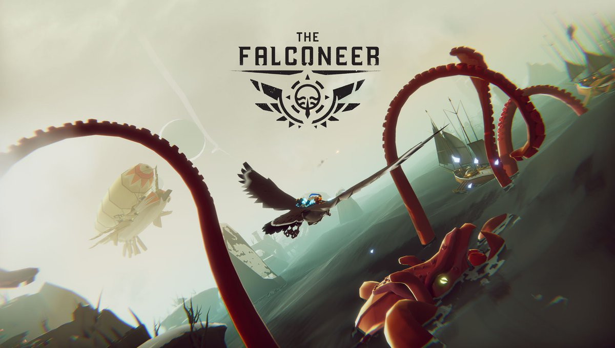 This airborne ocean-world fantasy RPG will take your armed aerial mount to the skies, exploring a bleak and hauntingly beautiful world. Rival factions vie for secrets hidden at the Ursee's depths.The Falconeer from @FalconeerDev will be coming to #Xbox!https://www.thefalconeer.com/