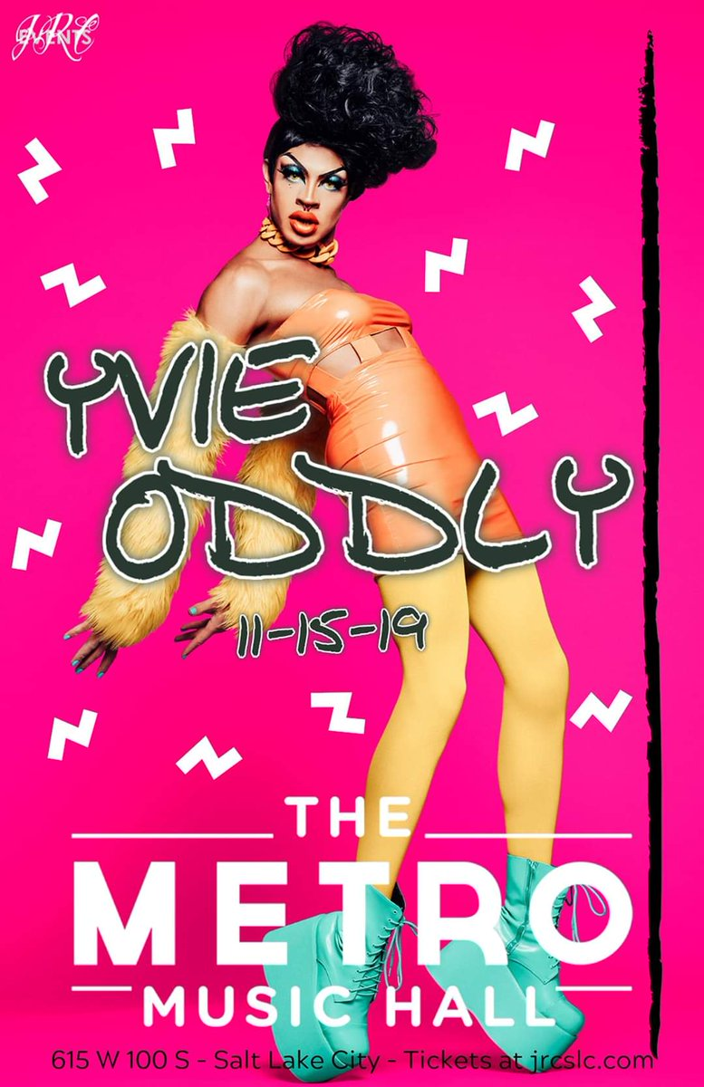 DM me if you want $5 off tickets to @OddlyYvie this weekend because I'm opening for her!