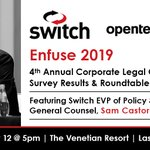 Image for the Tweet beginning: Don't miss @Switch EVP of