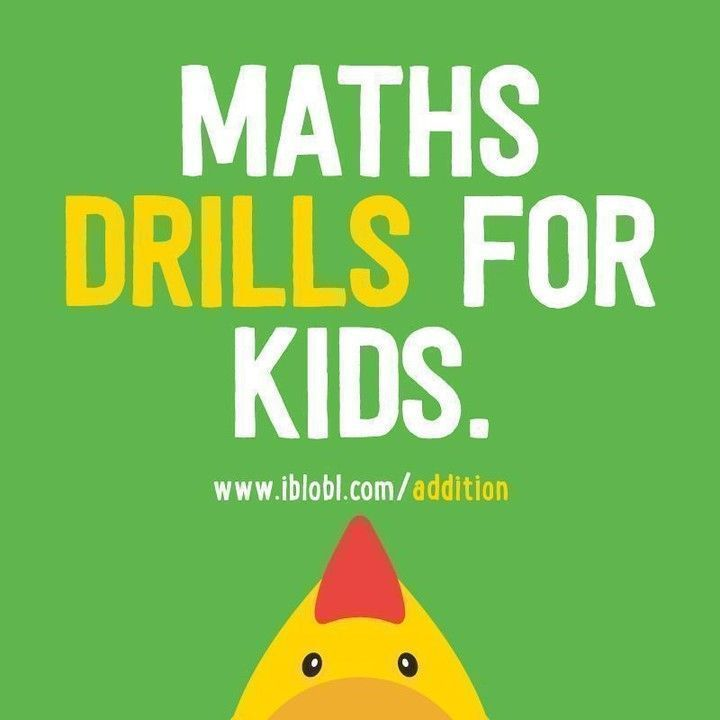 #Maths  #drills  for #kids .   https://buff.ly/2YKThRK    #Addition  #3rdGrade  #4thGrade  #kids  #math  #children  #mathematics  #games  #kids  #apps  #learn  #SchoolChoice  #homeschool  #homeschooling  #Homework   #ks2  #ks3  #MondayMorning  #mondaythoughts  #MondayMotivaton  #MondayMood  #Monday