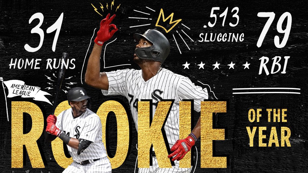 Eloy's impact reflected in AL Rookie of Year vote