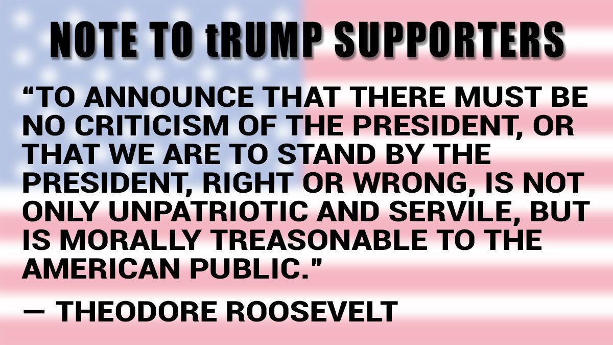 Replying to @mcspocky: Note to supporters of #CadetBoneSpurs