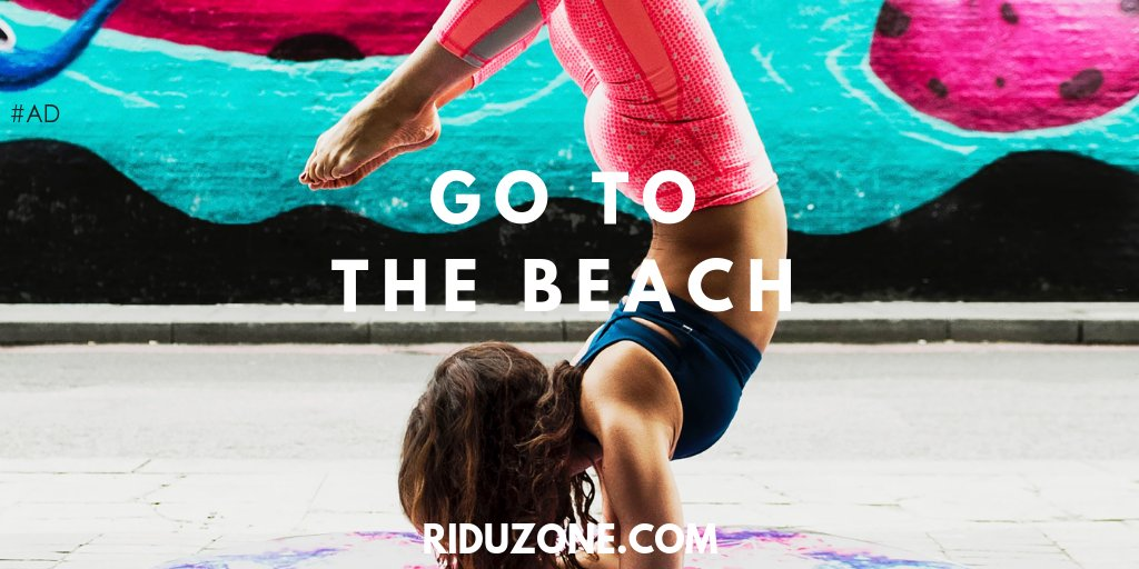 https://www.RiduZone.com   Go to the Beach #RiduZone  #Weightloss  #Health  #Exercise  AD