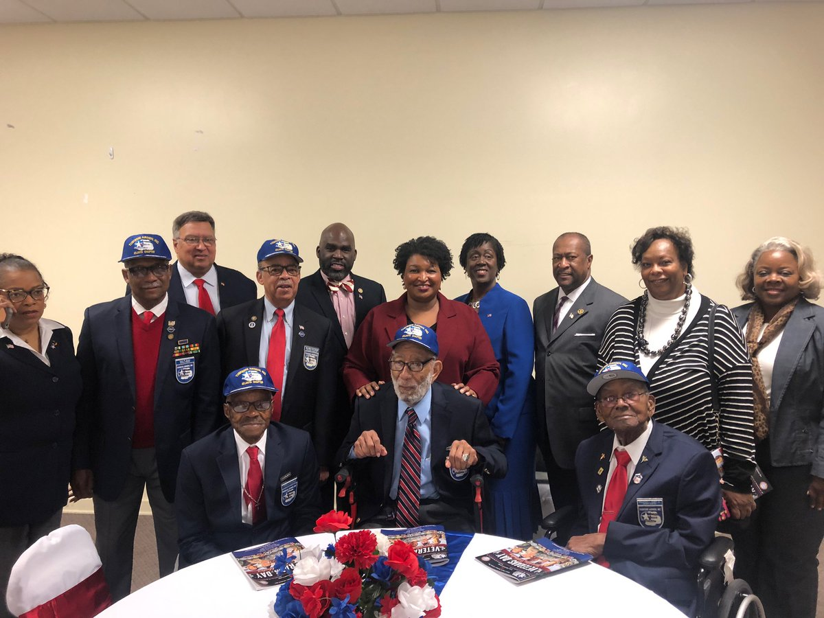 It was a privilege to spend Veterans Day in Riverdale with Tuskegee Airmen. To all our veterans, we honor the sacrifices of you and your families, and we thank you for your service.