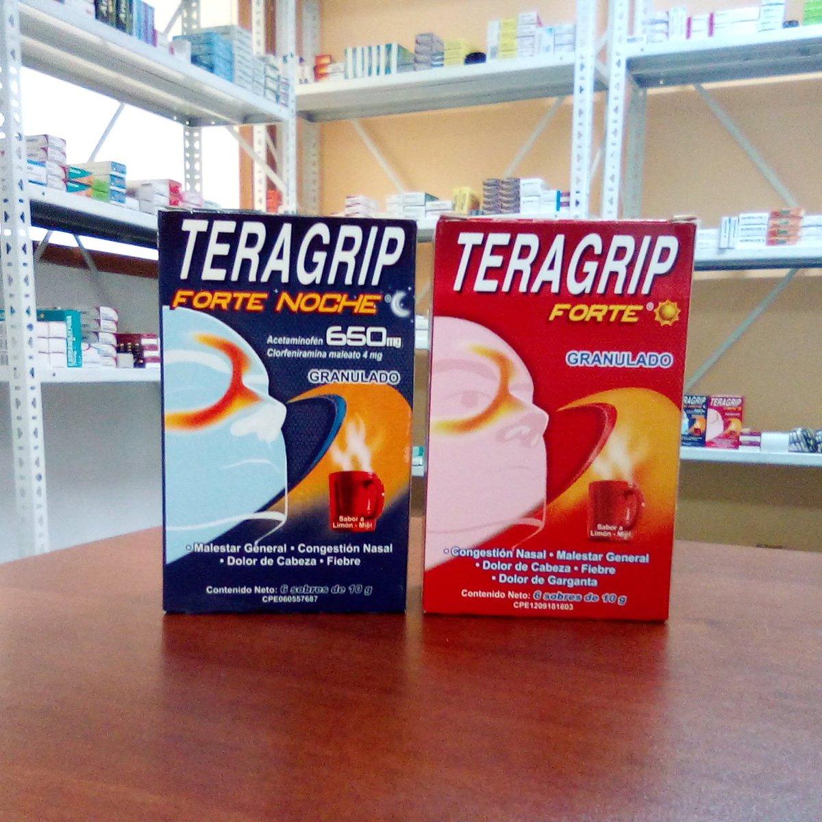Teragrip granulado día y noche disponibles en Ciudad Farmacia. Contactanos al 📲+58(424) 290.70.39 para disponibilidad y precios.  #teragrip #antigripal #medicina #medicamentos #farmacia #caracas