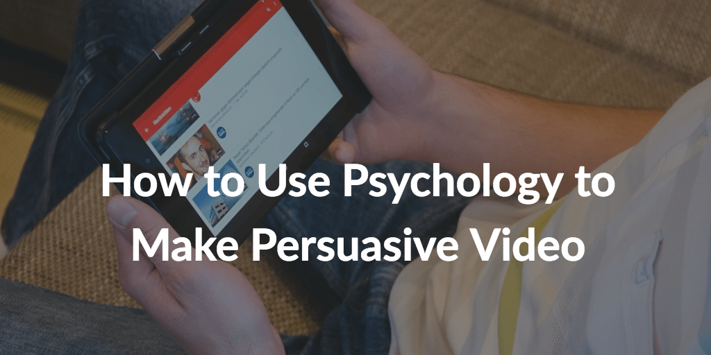 How to Use #Psychology  to Make Persuasive Video by @nireyal   https://buff.ly/2NtsmCJ   #marketing   A private study exploring customer behaviors on electrical goods website  https://buff.ly/2NtsmCJ   found that those who watched a product video were 100 per cent more likely to convert.