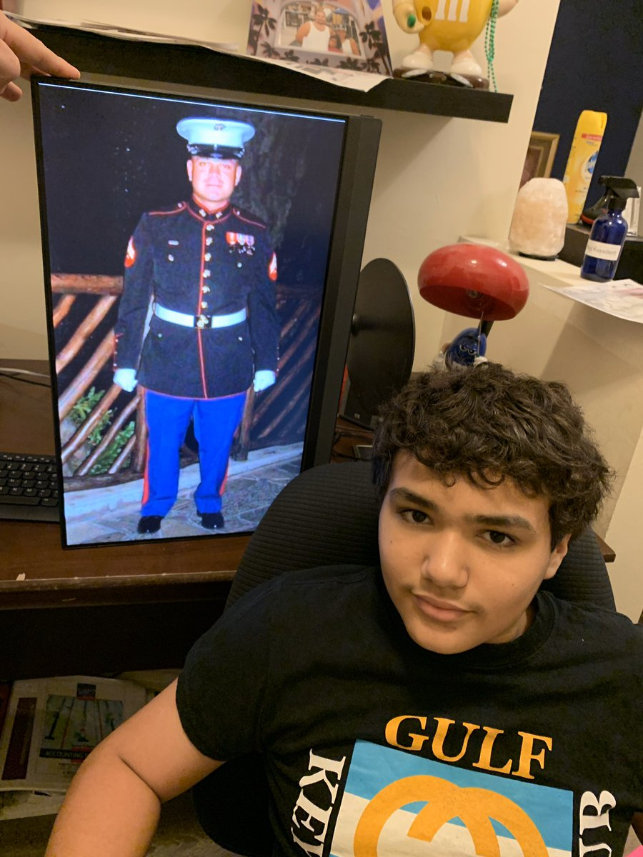 Thank you to Ricardo Aponte a family friend, United States Marines #OMSThanksVets @A_Forrest_OMS<br>http://pic.twitter.com/vb1dTKfRqf