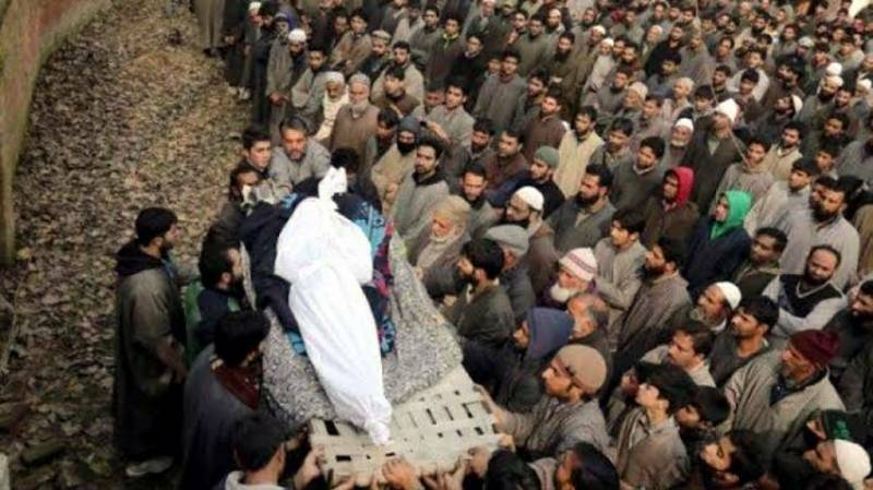 Indian troops martyr one more Kashmiri youth in worst act of state terrorism  https:// ift.tt/2Q7SDby     <br>http://pic.twitter.com/9KMMQmmD2t