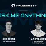 Image for the Tweet beginning: An AMA session with SpaceChain