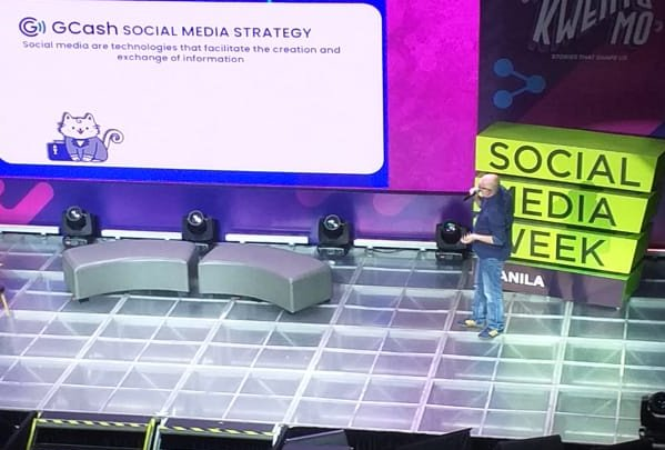 @gcashofficial (Mynt) Frederick Levy talks about innovating the app to address social interactions with social commerce,  social payment and GCash Forest. #SMWManila #SMWManila2019<br>http://pic.twitter.com/zh0NMzO4CT