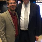 Image for the Tweet beginning: .@thewillwitt and @DennisPrager at the