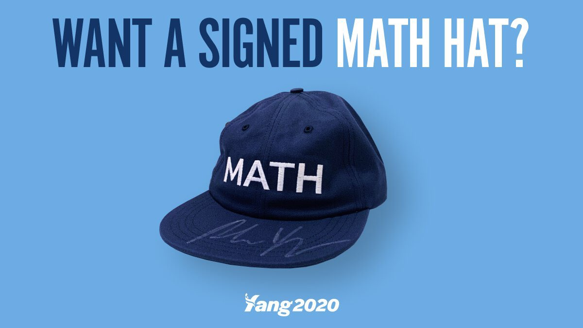 When I hit 1 million Twitter followers, we will drop 10 signed math hats into our inventory for 10 lucky purchasers.   <br>http://pic.twitter.com/HZwJuqVLOA