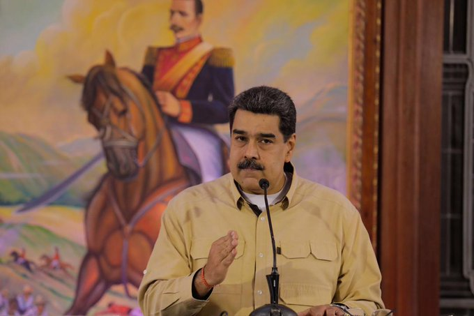 Maduro claimed that the coup d'état in Bolivia is against indigenous people.