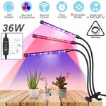 3 Head LED Plant Grow Dimmable Light Lamp 1500lm for Indoor Plants Hydroponics https://t.co/rgpWWx2keu #cannabis #cbd #indoorgrowing