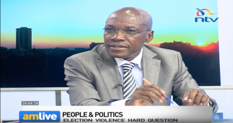 I've learnt a lesson from #KibraByElection . It was possible for Raila and his people to rewrite their signature of chaos - Boni Khalwale. #AMLiveNTV @debarlinea<br>http://pic.twitter.com/n0I6WMiFrn