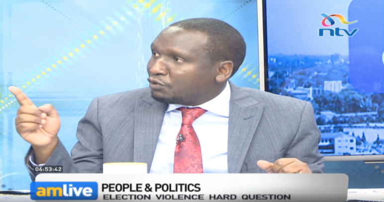 ODM's strategy in scaring away voters in their stronghold regions is what gave them this win - Aaron Cheruiyot. #KibraByElection #AMLiveNTV @debarlinea<br>http://pic.twitter.com/lvEXyZIMRR