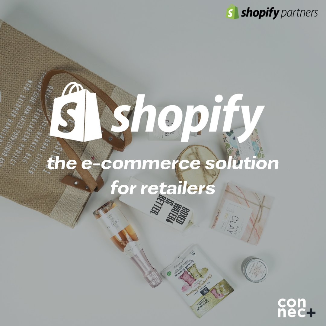 Here at Connec+ we're experts in implementing the power of #Shopify. Our Shopify expertise enhances our already extensive knowledge of ecommerce trends, functionality, customer behaviour & design -let's connect   https:// bit.ly/2RXLM3o     #ecommerce #getconnected<br>http://pic.twitter.com/t9oEwcbeHK