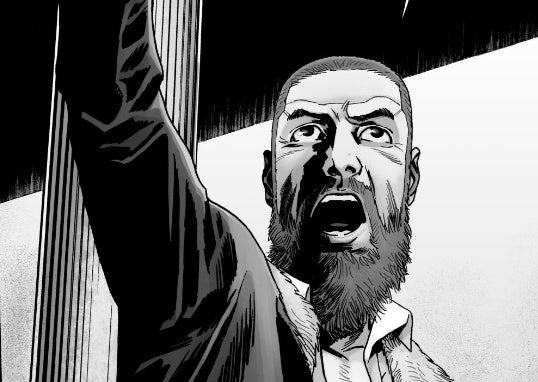 Just finished The Walking Dead and I can't believe I am done reading this incredible series. The ending was both depressing and satisfying. Thank God I still have the TV show.  Thank you @RobertKirkman and @CharlieAdlard for creating this! It was my favorite comic! <br>http://pic.twitter.com/5lh0bCqa7p