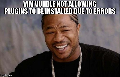 Vim Vundle not allowing plugins to be installed due to errors  https:// askubuntu.com/questions/1188 078/vim-vundle-not-allowing-plugins-to-be-installed-due-to-errors  … <br>http://pic.twitter.com/yIGvfqoW0V