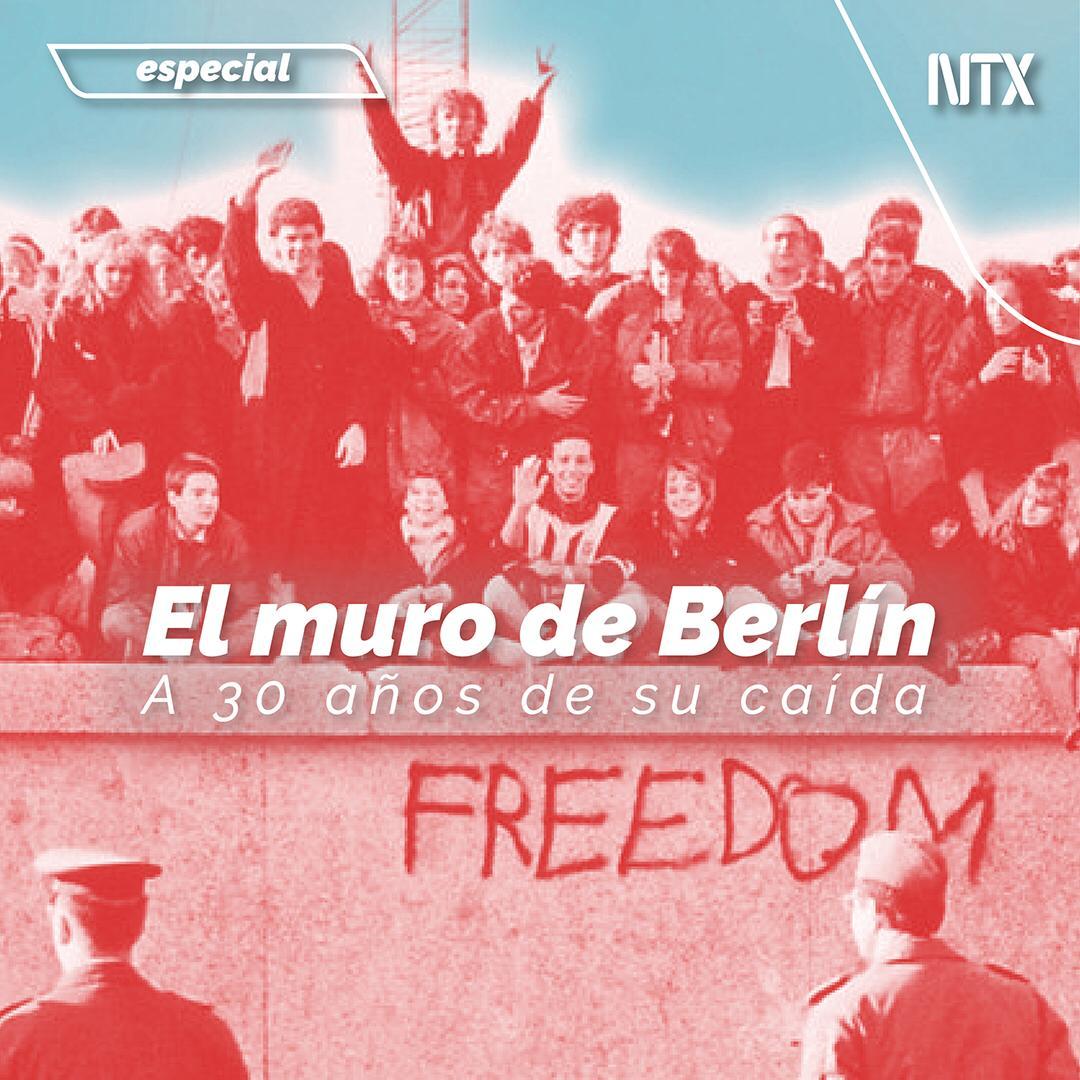 🔶#ESPECIAL | «Muro de Berlín, oprobio mundial y tumba del comunismo». ➡️http://ow.ly/NOOi50x7Zjf• #Notimex