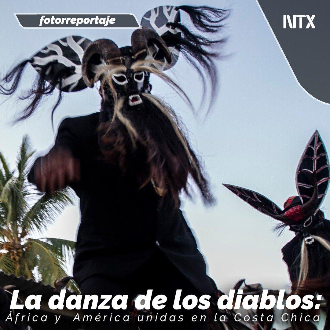📸#FOTORREPORTAJE | «La danza de los diablos: África y América unidas en la costa chica».➡️http://ow.ly/pOo550x7WWL📷 Ernesto Álvarez• #Notimex