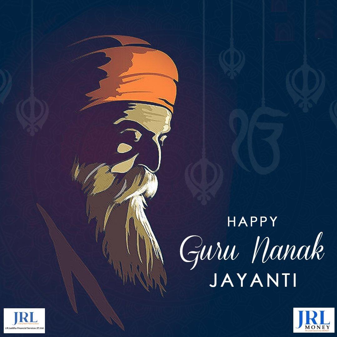 Happy Guru Nanak Jayanti To All. #gurunanakjayanti550  #gurupurab https://t.co/YwGJ58EdmU