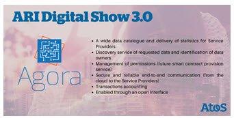 Otro de los #shuttles que presentaremos en el #ARIDigitalShow es #AGORA, una plataforma de...