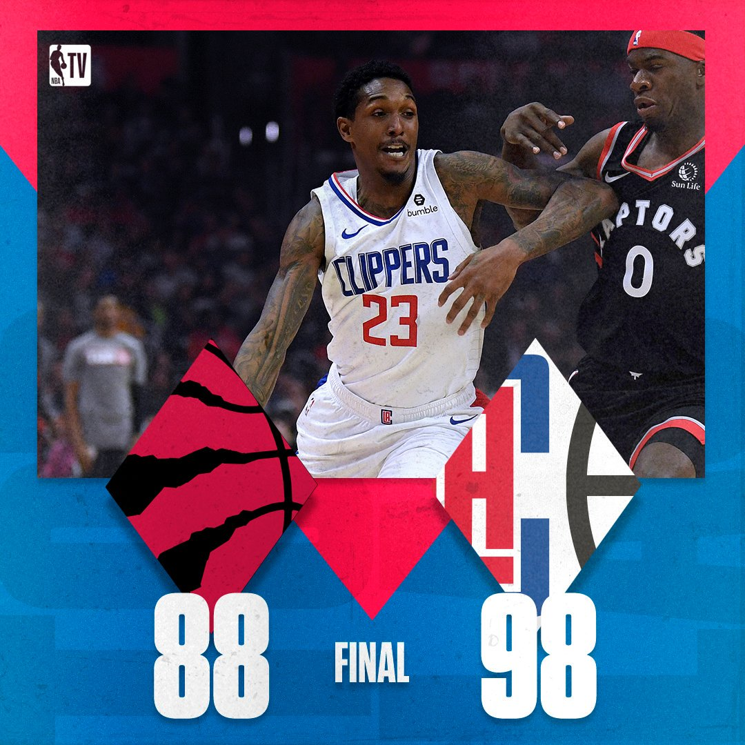 The Clippers get the dub in Kawhi's first matchup against his former Raptors team.