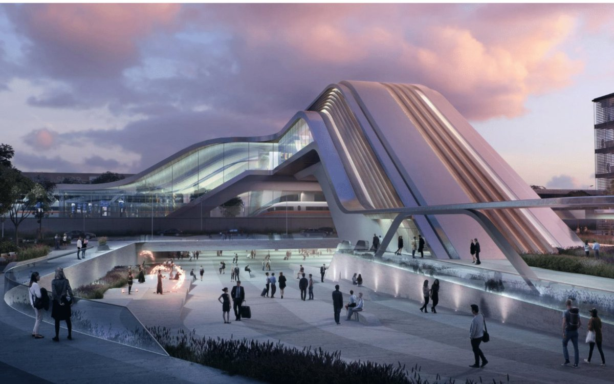 Zaha Hadid Architects and OÜ Esplans design Light Stream.