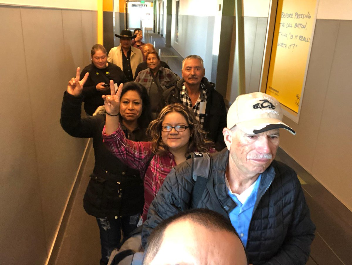 CA & WA farmworkers are heading to Washington DC to share their stories & support for the bipartisan #farmworker immigration bill, the #FarmWorkforceModernizationAct! Support them by taking action at ufw.org/supportfwma. #WeFeedYou