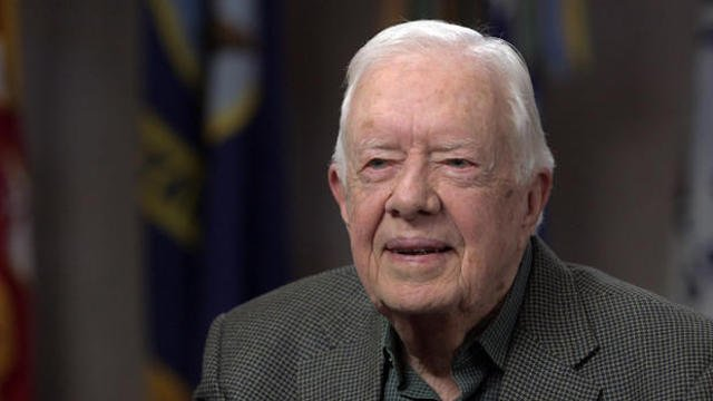 @CBSNews's photo on Former President Jimmy Carter