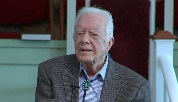 @wsbtv's photo on Former President Jimmy Carter