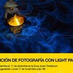 Image for the Tweet beginning: Exposición de fotografía con Light
